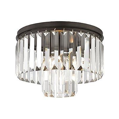 Elk Lighting 15223/1 Close-to-Ceiling-Light-fixtures, 9 x 12 x 12, Bronze