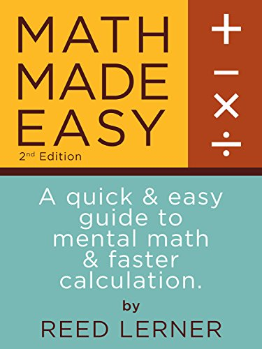 Amazon math made easy a quick and easy guide to mental math math made easy a quick and easy guide to mental math and faster calculation fandeluxe Choice Image
