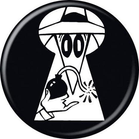 GLITTER ON BOMB FUSES SPY Lapel Pin SPY vs