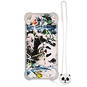 Case for Lg Isai Vivid Lgv32 Case Silicone border + PC hard backplane Stand Cover Luminous effect XM