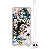 Case for Hisense T5s Case Silicone Border + PC Hard backplane Stand Cover Luminous Effect XM