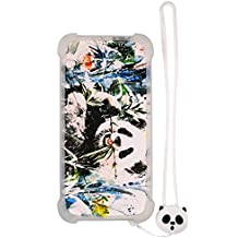 Case for Texet Tm-5075 Case Silicone border + PC hard backplane Stand Cover Luminous effect XM