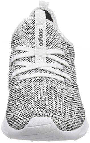 adidas Cloudfoam Pure, Zapatillas de Deporte Para Mujer Blanco (Ftwbla / Ftwbla / Negbas 000)