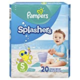 Pampers Splashers Disposable Swim Diapers Size S, 20 Count