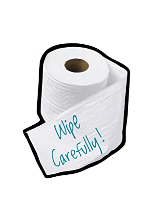 Stickee Fingerz Toilet Roll Wipe Carefully Reusable Phone Screen ...