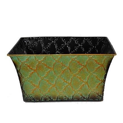 Amazon The Lucky Clover Trading 7514 Rectangular Emerald Home
