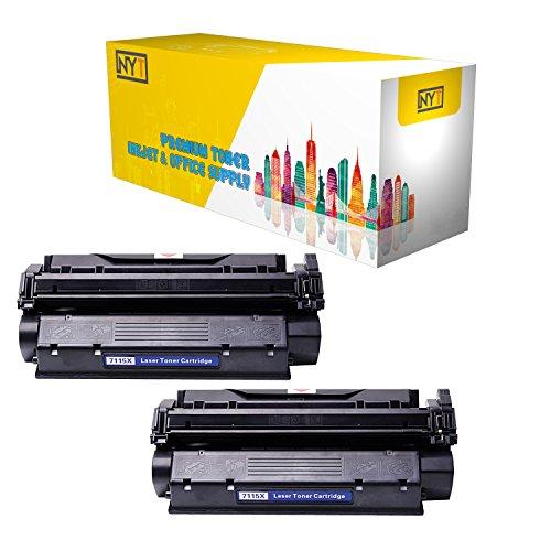 Printer 1200se (New York Toner New Compatible 2 Pack C7115x High Yield Toner for HP - LaserJet: LaserJet 1200 | LaserJet 1200n | LaserJet 1200se --Black)