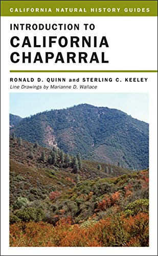 Introduction to California Chaparral (California Natural History Guides) ()