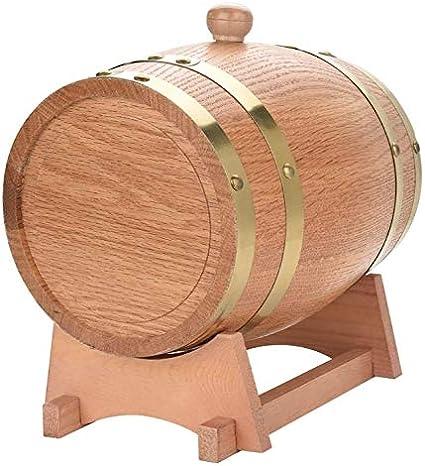 JIANGLI Roble Barril de Vino del Barril, 3 litros de Roble de ...