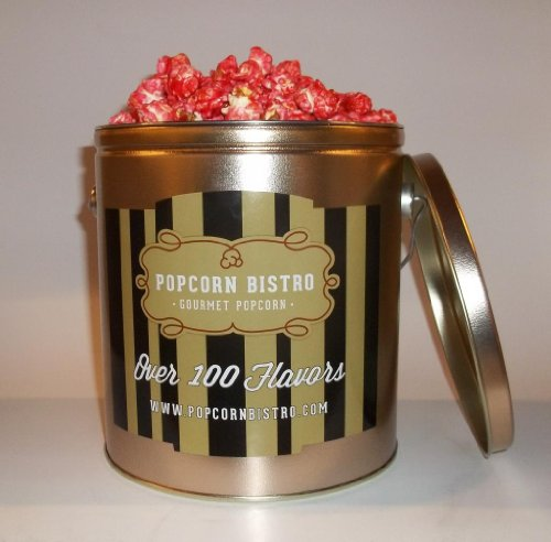 Popcorn Bistro Red Hot Cinnamon Gourmet Popcorn 1 Gallon (Cinnamon Popcorn)