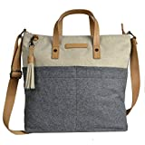 Sherpani Faith Crossbody/Tote, One Size, Buff/Chai