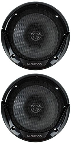 4) New Kenwood KFC-1665S 6.5 Inch 600 Watt 2-Way Car Audio Door Coaxial Speakers