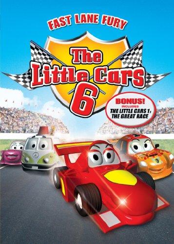 Amazon Com Little Cars 6 Fast Lane Fury Various Cristiano
