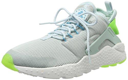 Nike W Air Huarache Run Ultra, Zapatillas de Deporte para Mujer Azul Claro (Fiberglass / Elctrc Green-Gmm Bl)