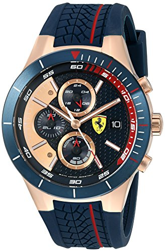 ferrari-830297-red-rev-evo-chrono-quartz-gold-and-silicone-watch