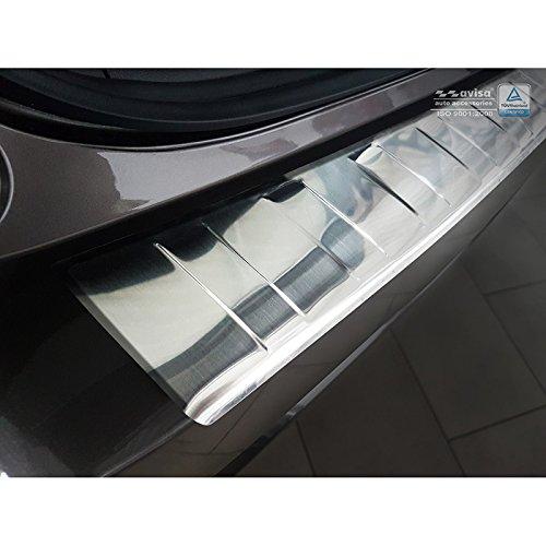 Auto Style 2//35205 Protector de Parachoques Trasero de Acero Inoxidable ASX 2017 Color Plateado