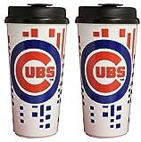 The Memory Company Chicago Cubs 32oz Single Wall Travel Mug 2 Pack