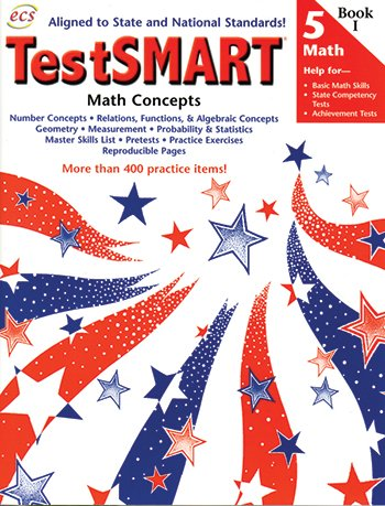 TestSmart Math Operations and Problem Solving, Grade 5, Book 1