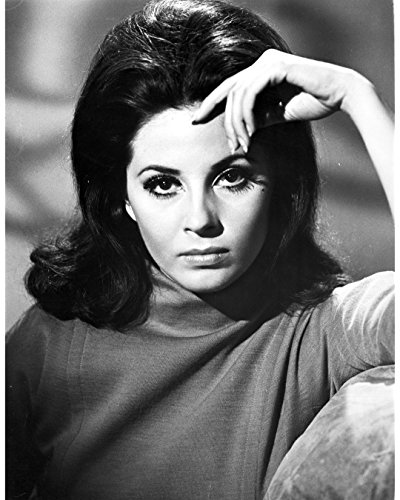 Globe Photos ArtPrints Barbara Parkins Close Up Portrait Wearing A Sweater - 8