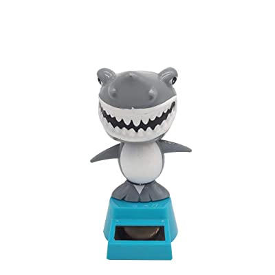Ouniman New Solar Dancing Toys,Cute Animals Cat Dog Solar Powered Dancing Toys Shark Monkey Swinging Dancing Toy Car Decoration for Dashboard Windowsill Home Desk Decor -17 Styles (Q): Home & Kitchen