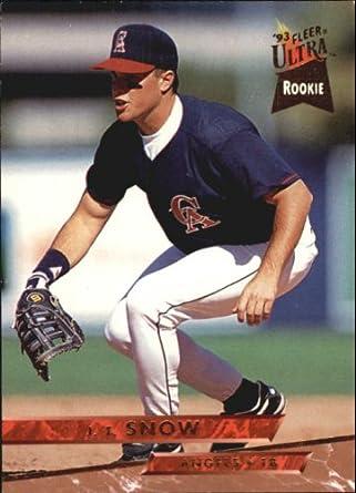 Amazoncom 1993 Ultra Baseball Rookie Card 525 Jt Snow Mint