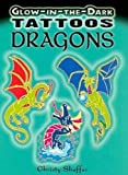Glow-in-the-Dark Tattoos Dragons (Dover Tattoos)