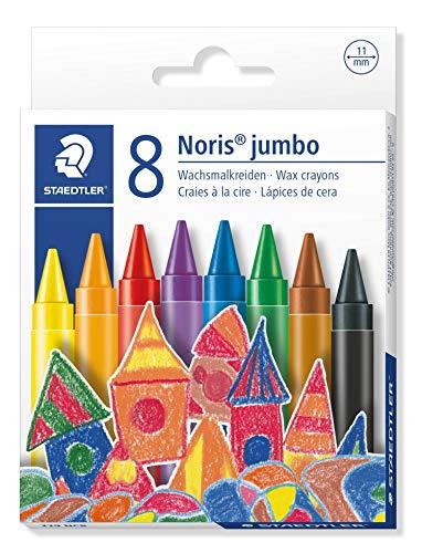 (Staedtler 229 Nc8 Noris Club Jumbo Wax Crayon (Pack Of 8))