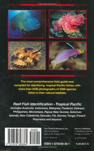Reef Fish Identification - Tropical Pacific