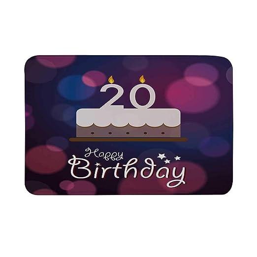 TecBillion Felpudo Antideslizante para Primer cumpleaños ...