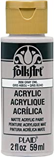 product image for FolkArt Acrylic Paint, 2 oz, Gray Owl