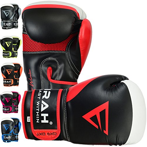 EMRAH Charged V-2 Boxing Gloves Muay Thai Training Maya Hide Leather...