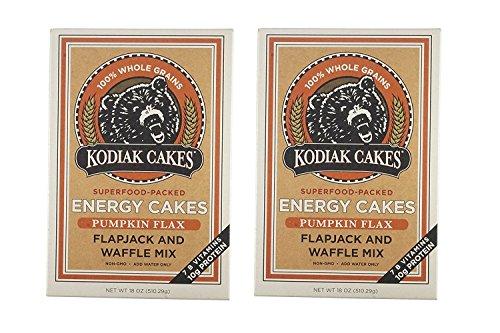 Kodiak Cakes Pumpkin Flax, 18 Oz (Pack of 2)
