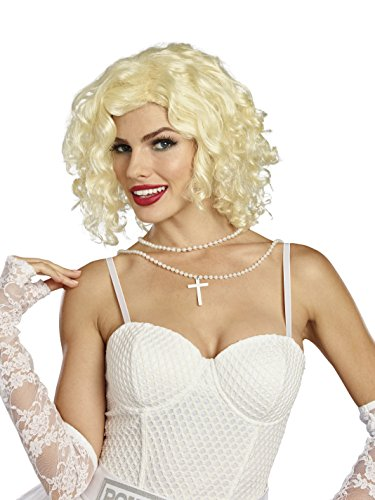 (Dreamgirl Women's Bombshell Blond Wig,)