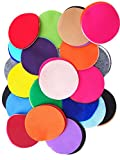 Playfully Ever After 4 Inch Mixed Color Assortment 100 pc Felt Craft Circles