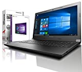 Lenovo Notebook 15,6 Zoll, AMD E2-7110 Quad Core 4x1.80 GHz, 8GB RAM, 1000GB HDD, AMD Radeon R2, BT, USB 3.0, WLAN, Win10 Prof. 64 (shinobee-Edition) #5196