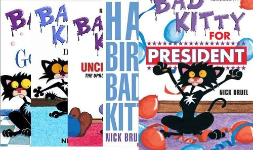Bad Kitty Book Set President product image