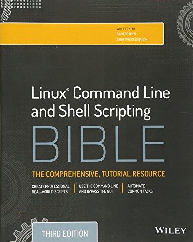 Linux Command Line and Shell Scripting Bible [Richard Blum - Christine Bresnahan] (Tapa Blanda)