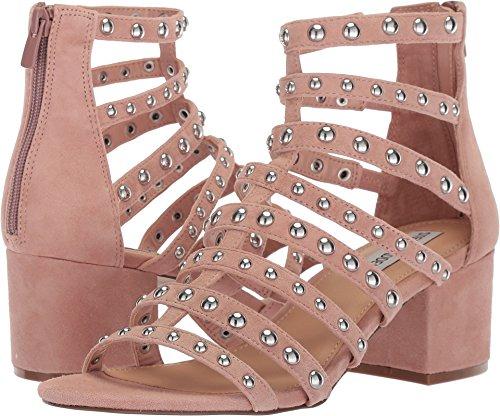 Steve Madden Women's Mania Heeled Sandal, Blush Multi, 7.5 M US