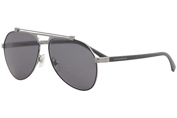 366ae533a4 Dolce   Gabbana Women s 0DG2189 Matte Black Gunmetal Polarized Grey ...