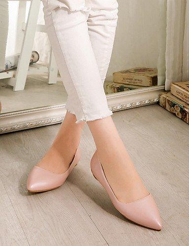 Negro Pdx Al Punta verde rosa Pink Pisos 5 Libre Mujer de Zapatos Bajo Carrera Y Sinttica Uk1 Tacn Toe Cn32 Eu33 De us3 casual rojo Aire 5 Piel oficina rPrqHRU8