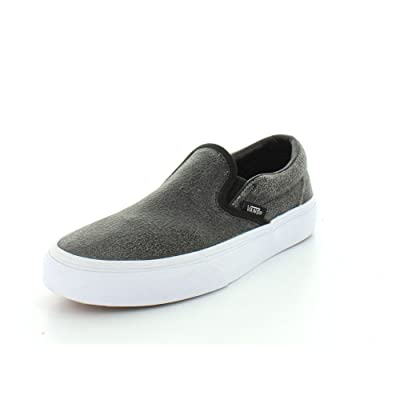 Vans Unisex Cracked Leather Classic Sneaker | Fashion Sneakers