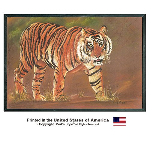 Wild Cat Tiger Leopard and Cheetah Removable Repositionable Wall Decal Mural Stickers (24