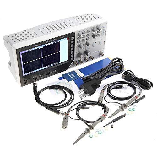 (Hantek DSO4102S Oscilloscope 2 in 1 Digital Oscilloscope 2CH 100MHz + 25MHz Signal Generator AC100-240V 2 Channel (US Plug))