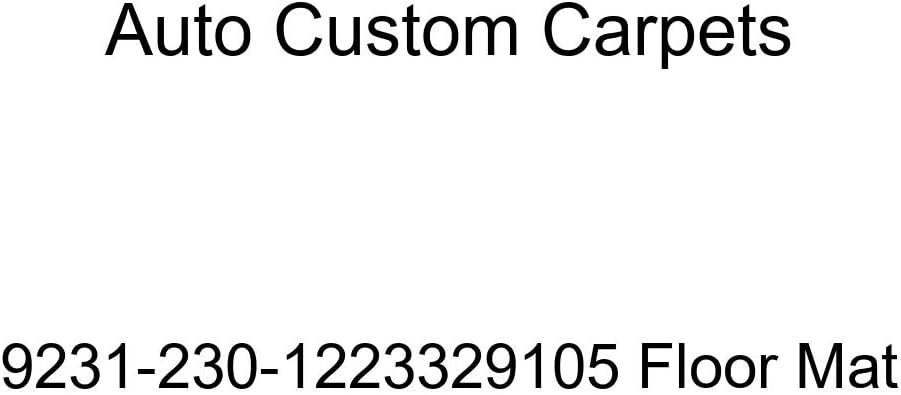 Auto Custom Carpets 9231-230-1223329105 Floor Mat