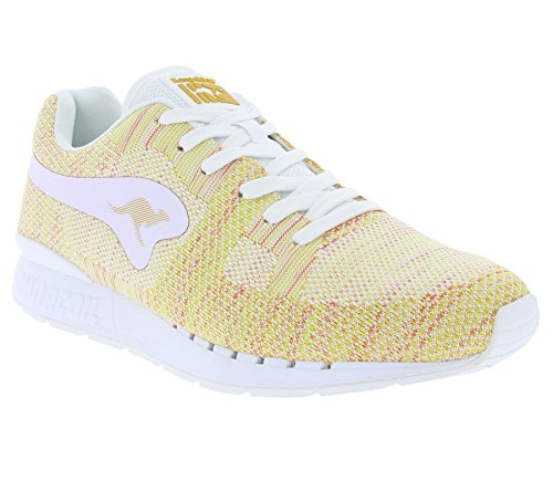 Kangaroos Coil R1-Woven, Unisex Adults' Low-Top Sneakers Multicolor - Mehrfarbig (White/Multi 009)