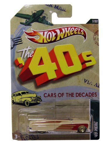 Hot Wheels Cars of The Decades - The 40's - '49 Merc - VHTF! ()