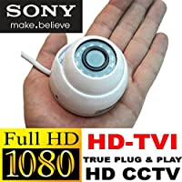 USG 2MP SONY Chipset HD CCTV Camera : HD-TVI CCTV Format : 1080p @ 30fps Dome Security Camera : 3.6mm Wide Angle HD Lens : Premium Components : 12x IR LEDs : SPECIAL Tiny Mini Dome