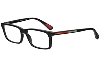 586761c5c7fd Amazon.com  Prada PS02CV 1AB1O1 Men s Eyeglasses