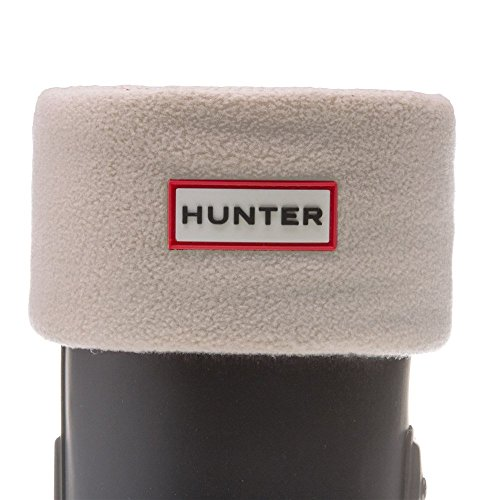Fleece Socks Welly (Hunter Unisex-Adult Fleece Welly Socks S23661 Large (Uk 6-8, Eu 39-42) Cream)