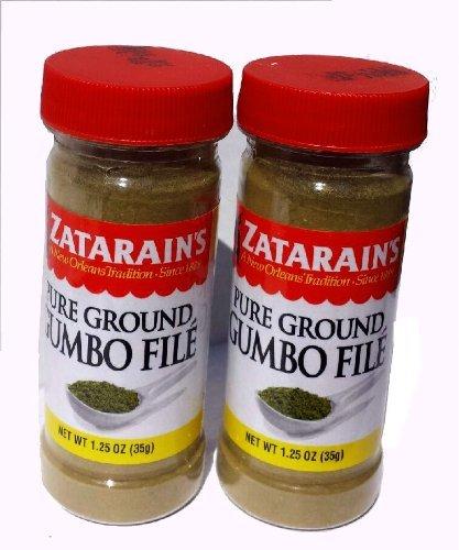 (Zatarains Pure Ground Gumbo File (Set of Two))